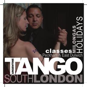 tango south london flyer logo front
